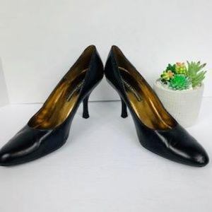 Chinese Laundry Round Toe Black Heels - Yanni